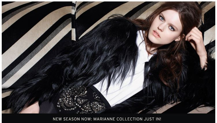Marianne collection by Topshop